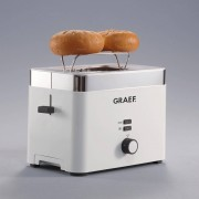 Graef Toaster TO 61, 2 kurze Schlitze, für 2 Scheiben, 888 W
