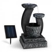 Fantaghiro Fontana Decorativa da Giardino LED Solare 3W Poliresina Roccia