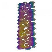 Lund London Buchzeichen Metall regenbogen