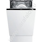 GORENJE GV 51010 Teljesen beépíthetõ mosogatógép