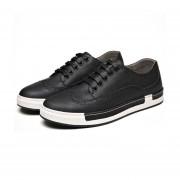 Botas Cortas Martin Estilo Británico Retro Zapatos Casuales Calzado -Negro