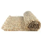 """Rákosová stínící plotová rohož """"úzký rákos"""" - délka 500 cm a výška 100 cm"""