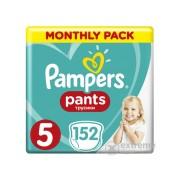 Pampers Pants pelene-gaćice, Veličina: 5, 152 kom