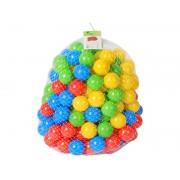 Set 200 bile colorate pentru joaca sau piscine copii, multicolore, diametru bila 5,5cm