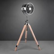 Tromsö pedestal fan, wooden tripod