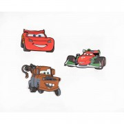 Graham & Brown foam muurstickers Cars 2 (3 stuks) - Leen Bakker