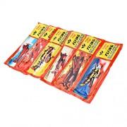 AST Works 12PCS Foam Glider Prop Flying Gliders Plane Aeroplane Kids Children DIY Toyoh