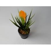 Tillandsia geel kunstplanten en kunstbloemen