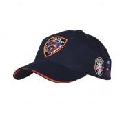 Merkloos Baseball pet NYPD donkerblauw