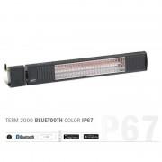 Burda WTG Burda TERM 2000 Bluetooth IP67 Heizstrahler (Farbe: Anthrazit)