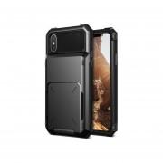 Funda IPhone X Xs USO RUDO Marca VRS DESIGN (VERUS) Modelo Damda Folder - Negro