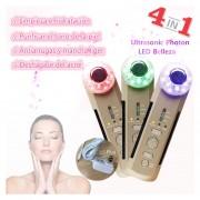 4in1 Photon Ultrasonic Facial Massager Body Face Beauty
