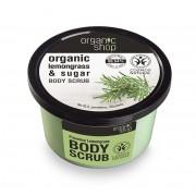 Scrub de corp delicios cu zahar si lemongrass Provence Lemongrass, 250 ml - Organic Shop…