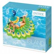 Intex Saltea gonflabila Peacock Island 193 x 163 cm 57250