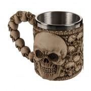 Merkloos Piraten beker met schedels