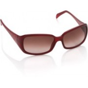 Fendi Rectangular Sunglasses(Brown)
