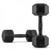 Capital Sports Hexbell Dumbbell pereche 2 x 5 kg (FIT20-Hexbell)