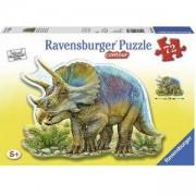 Пъзел Ravensburger фигура 72 елемента, Динозавър, 707403