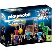 Super 4 - Razboinici Cu T-Rex Playmobil