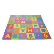 Verdes Toys Tapete Foam 36 Peças Letras e Números