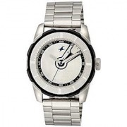 Fastrack Quartz Silver Round Men Watch 3099SM01