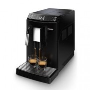 Автоматична еспресо машина Philips EP3510/00, 1,8 л. воден резервоар, 5 настройки на мелачката, 3 настойки на температура, дисплей, черна