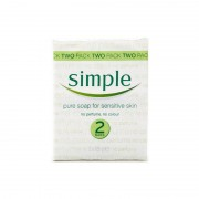 Simple Pure Soap Twin Pack 2 st Handtvål