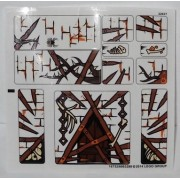 "Lego Original -Sticker Sheet- for The Hobbit Set #79014 ""Dol Guldur Battle"