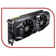 Видеокарта ASUS GeForce RTX 2070 OC 1410Mhz PCI-E 3.0 8192Mb 14000Mhz 256 bit Display Port HDMI HDCP DUAL-RTX2070-O8G