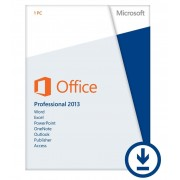 MICROSOFT OFFICE PROFESSIONAL 2013 - OFFICIAL WEBSITE - MULTILANGUAGE - WORLDWIDE - PC