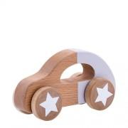 Bloomingville Mini houten speelgoed auto paars