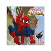 20 Guardanapos de papel Spiderman 33 cm