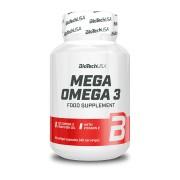 BioTechUSA Mega Omega 3 90 lágykapszula