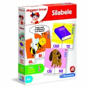 Joc educativ Agerino - Invata silabele