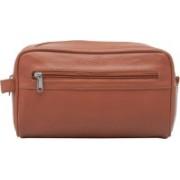 Mboss Pack & Go Travel Toiletry Kit(Tan)
