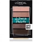 L'Oréal Paris La Petite Palette paleta de sombras de ojos tono Optimist 5 x 0,8 g