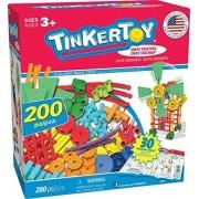 K 27NEX Tinkertoy 30 Model, 200 Piece, Super Building Set by Tinkertoy