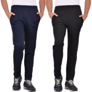Pack of 2 Regular Fit Track Pants (Combo)