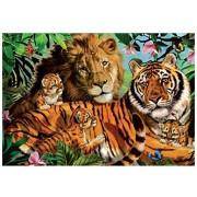 Puzzle Jumbo - Wild Cats, 1.000 piese (18338)