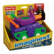 Fisher-Price Imaginext Joker Tank & Batman & Jokers