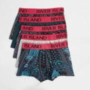 River Island Mens Pink aztec print hipsters multipack - Size L (EU)