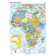 Africa. Harta politica 100x140 cm