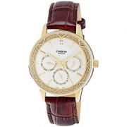 Casio Enticer Analog White Dial Womens Watch - LTP-2087GL-5AVDF (A911)