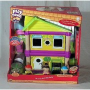 Play Town Family House with 3 Figures and Furniture