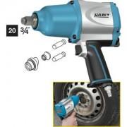 HAZET Llave de impacto 9013SPC . Par de aflojamiento máximo: 1800 Nm . Cuadrado macizo 20 mm (3/4 pulgadas) . Mecanismo percutor de púas y alto rendimiento