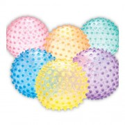 US Games Color My Class 8in See Thru Knobby Balls