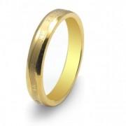 Inel cu magneti placat cu aur VOX 48