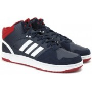 ADIDAS NEO HOOPS JUMPSHOT MID Mid Ankle Sneakers For Men(Navy)