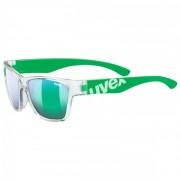 Uvex Kid`s Sportstyle 508 Mirror S3 Occhiali da sole verde/grigio