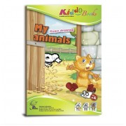 Varázslatos színező állatokkal Kiddo Books